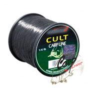 Леска Climax Cult Carpline 0.25, 5 kg, черная 1/4 lbs 1750m