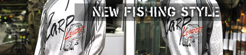 carp leader футболка джерси рыболовная classic line