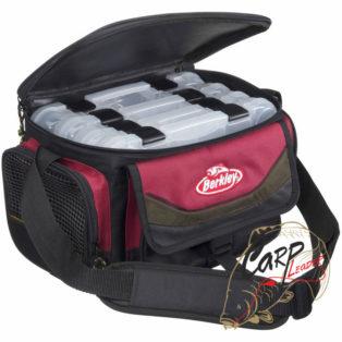 Сумка Berkley System Bags Red-Black + 4 boxes