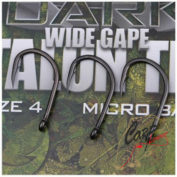 Крючки карповые Gardner Covert Dark Wide Gape Talon Tip Hook Sizes 4