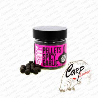 Пеллетс насадочный FFEM Hookbaits Pellets Spicy Garlic Halibut 8 мм.