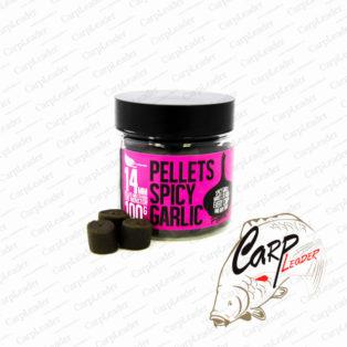 Пеллетс насадочный FFEM Hookbaits Pellets Spicy Garlic Halibut 14 мм.
