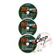 Поводковый материал ESP Zig&Floater Mono 100m 8lb