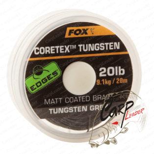 Поводковый материал в защитной оболочке Fox Edges Tungsten Coretex 20lb