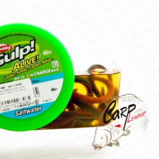 Приманка Berkley Gulp! Alive! Sandworm Camo 15 см. 28 шт.