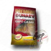 Прикормка Dunaev Premium 1 кг. Карп-Сазан Красная