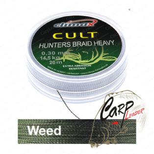 Поводковый материал Climax Cult Heavy HuntersBraid weed , 20 lbs, 20 m