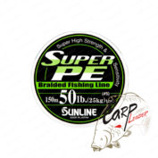Шнур Sunline Super PE 150m. 0.260mm. 25lb. 12.5kg. белый