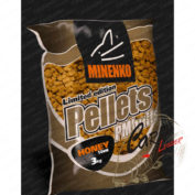 Пеллетс Minenko PMbaits Pellets Big Pack 14 мм Honey 3 кг