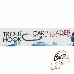 Крючки безбородые Carpleader Trout Hook Barbless DH 300 Jig №10 BLN Barbless 10 шт.