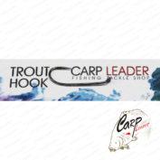 Крючки безбородые Carpleader Trout Hook Barbless STR №6 10 шт.