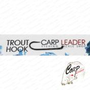 Крючки безбородые Carpleader Trout Hook Barbless DH 231 №8 10 шт.