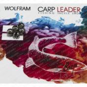 Головки вольфрамовые CarpLeader с вырезом Natural 4,5 мм. 0,75 гр. 5 шт