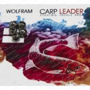 Головки вольфрамовые CarpLeader с вырезом Natural 5,5 мм. 1,3 гр. 5 шт