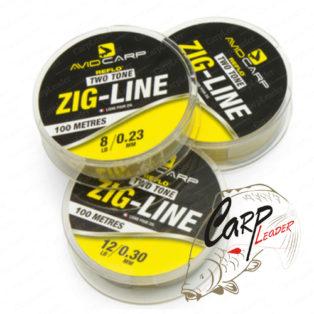Леска плавающая Avid Carp Zig Line 8LB 0.24mm