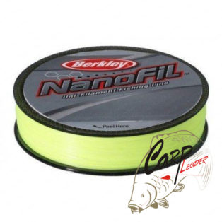 Шнур Berkley Nanofil Green 270 м. d-0,17 желтый