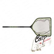 Подсачек с прорезиненной сеткой BFT Medium Net 50x60 складная ручка до 1,4 м.
