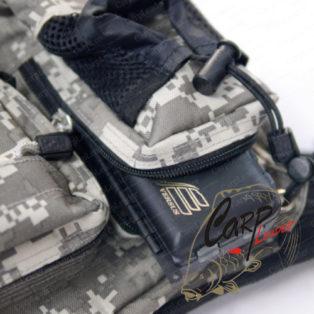 Сумка-рюкзак Geecrack Hip Bag Type-2 Dejicamo-Gray