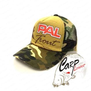 Бейсболка Zetrix PAL Trout Cap PTC-1702 Brown Camo Beak / Brown Camo Mesh