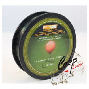 Поводковый материал PB Products Chod Mono 15lb 20m 00/40mm