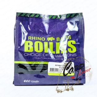 Бойлы Rhino Baits 14 мм. 0.5 кг. Super Strawberry Супер Клубника
