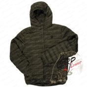 Стеганная легкая куртка с капюшоном Fox Chunk Olive Quilted Jacket
