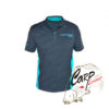 Футболка Drennan DR Polo Shirt Grey/Aqua - l
