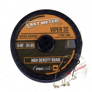 Поводковый материал PROLogic Viper 3S 15m 15lbs