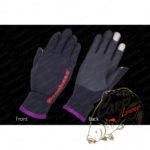 Перчатки Megabass Ti Glove Black/Orange - xl