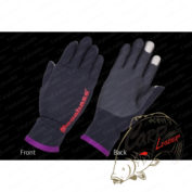 Перчатки Megabass Ti Glove Black/Orange