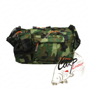 Сумка-рюкзак Geecrack Hip Bag Type-2 Green-Camo