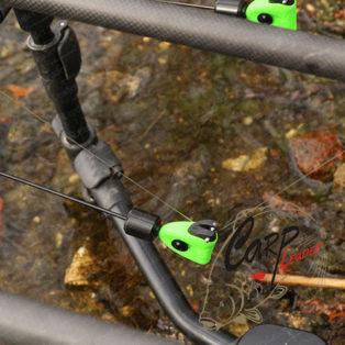 Механический сигнализатор поклевки Fox Black Label Mini Swinger Green