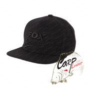 Бейсболка Fox International Black Snapback Cap