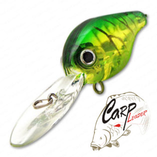 Воблер Lucky Craft Clutch XD 5412 Lime Chart Tiger 722
