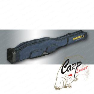 Чехол для 4 фидерных удилищ Sportex XXL Rod Bag 1,65 м. с доп. карманами
