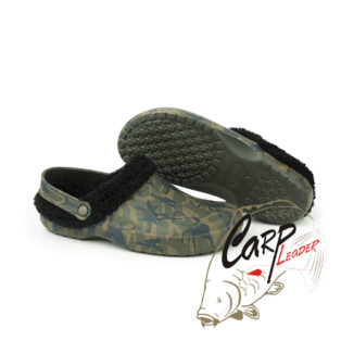 Кроксы Fox Chunk Camo Fleece Clogs