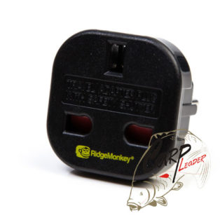 Адаптер для зарядного устройства Ridge Monkey Vault UK 3 Pin to EU 2 Pin Adaptor