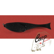 Поролоновая рыбка Контакт с двойником 8 см. черная