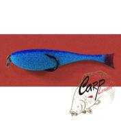 Поролоновая рыбка Контакт с двойником 12 см. синяя