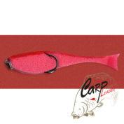 Поролоновая рыбка Контакт с двойником 8 см. красная