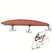 Воблер Megabass X-140 World Challenge Mat Red Lizard