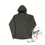 Непродуваемая куртка с капюшоном Fox Green & Black Softshell Jacket