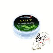 Поводковый материал Climax Cult Hunters Braid 45 lbs20 kg 20 m Camou