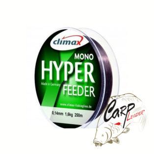 Леска Climax Hyper Feeder 250m 0.18mm 3.0kg тёмно-коричневая