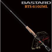 Спиннинг Jackson Bastard BTS-6102ML 1.86 m до 10.5 g