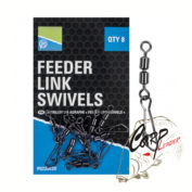 Вертлюг Preston Double Feeder Link Swivels двойной