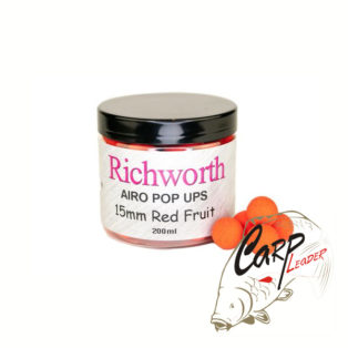 Бойлы плавающие Richworth Airo Pop-Up 15 mm Red Fruits New