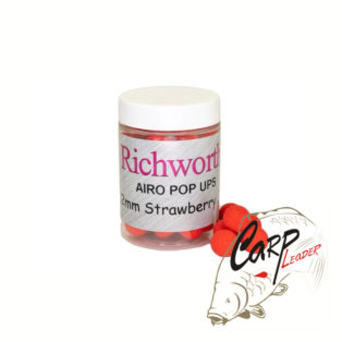 Бойлы плавающие Richworth Airo Pop-Up 12 mm Strawberry Jam