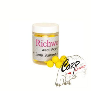 Бойлы плавающие Richworth Airo Pop-Up 12 mm Banana Toffee