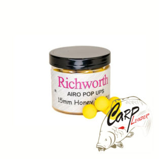 Бойлы плавающие Richworth Airo Pop-Up 15 mm Honey Yucatan New